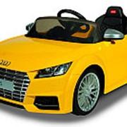 Детский электромобиль Rastar Audi TTS желтый фото