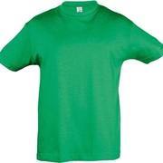 Футболка детская REGENT KIDS 150 ярко-зеленая, на рост 106-116 см (6 лет) фото