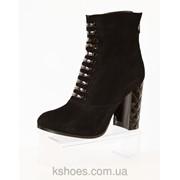 Осенние ботинки на каблуке Kluchini 3754 354974656 фото