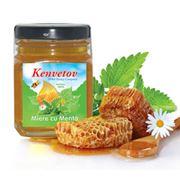 Мед с мятой фото