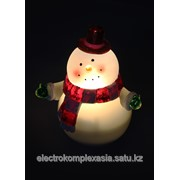 Ночник Космос EL113 фигурка снеговика наст. фото