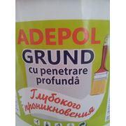 Грунтовка глубоко проникновения ADEPOL GRUND фото