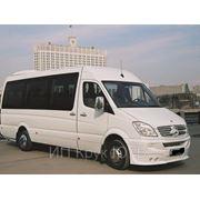 Пассажирские перевозки микроавтобусами VW. Мерседес (9-18 пассажирских мест). фото