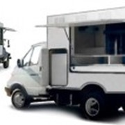 Автолавка - торговый фургон фото