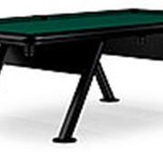 Всепогодный бильярдный стол для пула Key West 8ф (черный) фото