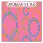 Ковролан Aquarelle Kids 3660 8 44955 4м розовый+ круги фото