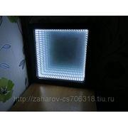 Зеркало с тунелем фото