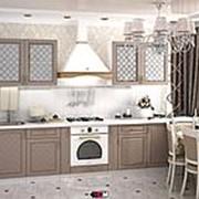 Угловой кухонный гарнитур Модена серый фото