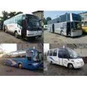 Перевозка пассажиров автобусами туристического класса фото
