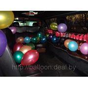 Украшение автомобилей воздушными шарами фото