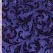 Темно-синий с рисунком фото