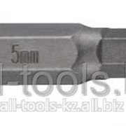 Бита 6-гранная 10 мм Hex 5 мм L = 75 мм Код:1747505 фото