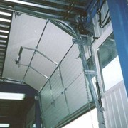 Ворота промышленного назначения фото