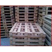 Паллеты ящичные деревянные на экспорт фото
