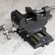 Крестовинные тиски KS-100 :: Тиски машинные, стано фото