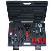 Универсальный набор инструментов, предназначенный для снятия муфт компрессора автокондиционера фото
