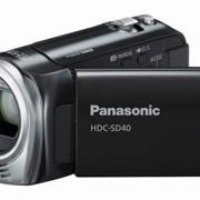 Видеокамера Panasonic HDC-SD40EE-K черный фото