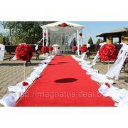 Выездная регистрация брака украшение с шатром фото