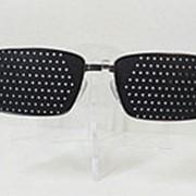 Очки тренажеры для тренировки зрения, металлические, узкие фото