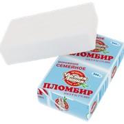 Мороженое пломбир ванильный Семейное 200 г. фото