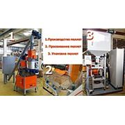Линия по производству пеллет 100-200 кг/ч. фото