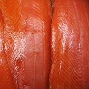 Рыба Лосось олажденный Холодного Копчения Элит-класс щепой ольха-дуб Пласт, Балык, Нарезка, Вакуум фото