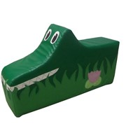 Напольная игрушка «Крокодил» фото