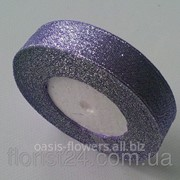 Лента люрекс 2см фиолетовый фото