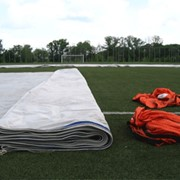Protection systems for football pitches фото