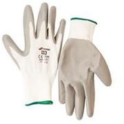 Перчатки полиэстер с нитрил. глад. покрытием 10/XL 27663 фото