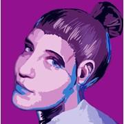 Стилизованный портрет фото