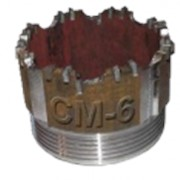 Буровая коронка СМ-6 Д112 фото