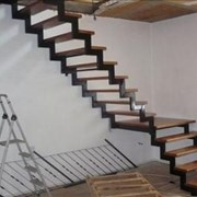 Изготовление лестниц(каркас лестницы) фото
