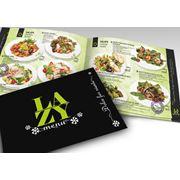 Дизайн меню для ресторанов кафе фото