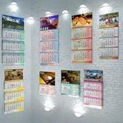 Печать настенных календарей фото