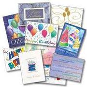 Печать поздравительных наборов конверт и открытка фото
