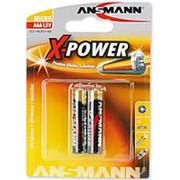 Элемент питания ANSMANN X-POWER AAAA LR61 BL2 1 штука фото