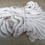 Веревка текстильная фото