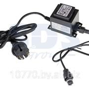 Блок питания для подключения светодиодных сосулек 50 см и 80 см, 230-9,5V, цвет черный. фото