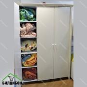 Детский трехстворчатый шкаф для одежды Bella Milli Willi фото