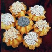 Ромашка ореховая - орех, кокос, мак. Сдобное печенье фото