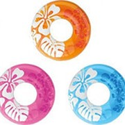 Круг для плавания 91см, 3 цвета, от 9 лет, Intex 59251 фото