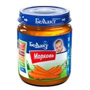 """Овощное детское пюре """"Беллакт"""". Морковь фото"""