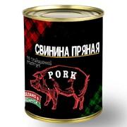 """Консервы мясные """"Свинина пряная"""" 340 г фото"""