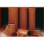 Трубы и фитинги канализация ПВХ PVC 110 mm 160 mm фото