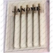 Иглы на швейные машины JANOME для тонких деликатных тканей фото
