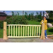 Забор деревянный фото