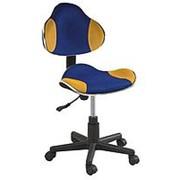 Кресло компьютерное Signal Q-G2 (желто-синий) фото