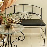 Кованый диван Неаполь фото