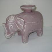 Подсвечник Слон индийский фото